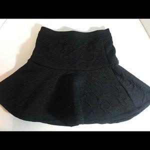 Frenchi flounce skirt Black BNWT SIZE medium